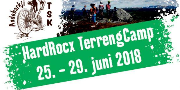 Hard Rocx Terrengcamp 25. – 29. juni 2018